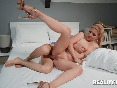 Massive cock for mommy during their way roguish webcam session