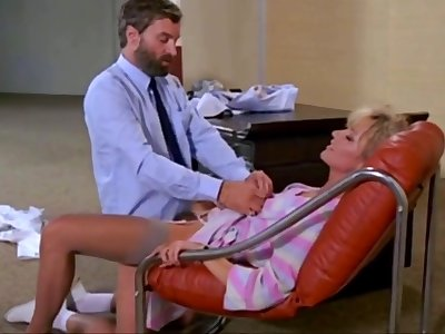 Ursula Gausmann sexy milf lady fucked in the office