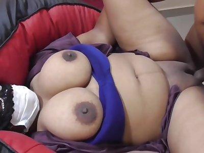Busty Beamy Lady Sucks My Dick At Night