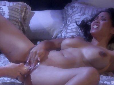 Horny lovers Jessica Bangkok and Alyssa Reece have lesbian sex