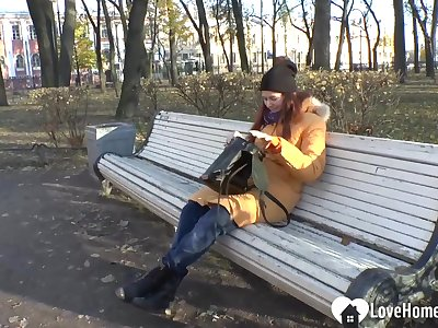 Russian beauty student so lonely this taken in