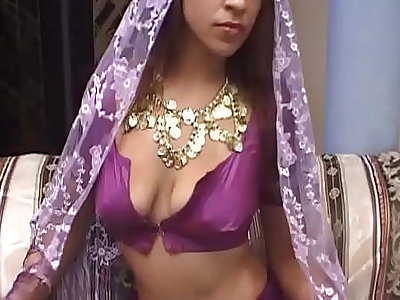 Indian muslim girl gets their way small pussy fucked from 2 foreigners, if their way father would know