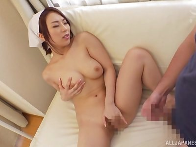 Japanese with fat tits, first hardcore oral together with anal experience