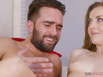Hot babe Karla Kush crazy office sex video
