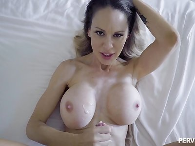 POV accommodation billet made video of mature McKenzie Lee possessions fucked by a perv